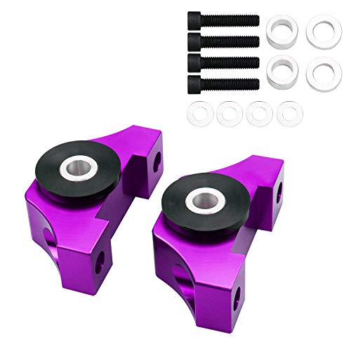 Tasan Racing Engine Billet Motor Torque Mount for Honda Civic EG EK B16 B18 B20 D16 Purple