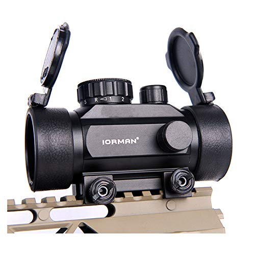 Hunting Rifle Crossbow Sights Red Green Dot Sights Scope Sight 0.5 MOA 1x30mm Scope Red Green Reticle Sight