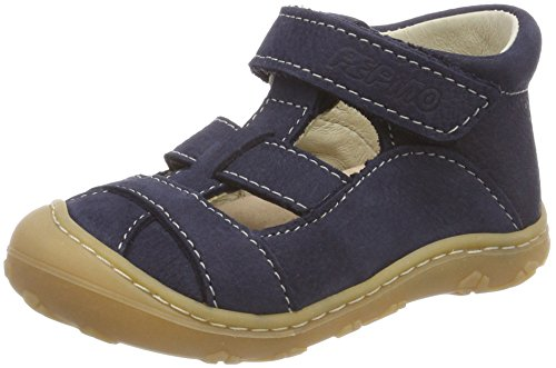 RICOSTA Unisex-Kinder LANI Hohe Sneaker, Blau (See), 19 EU