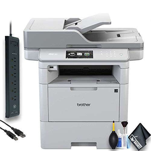 Brother MFC-L6900DW Monochrome Laser All-in-One Printer (MFC-L6900DW) Office Bundle