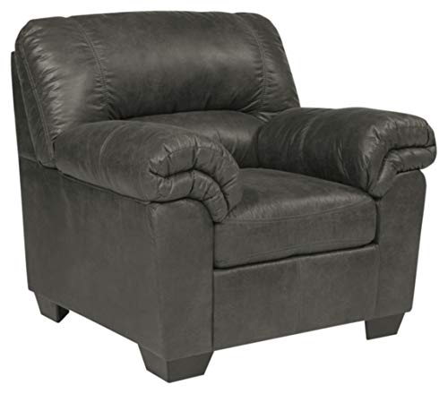 Signature Design by Ashley - Bladen Contemporary Plush Upholstered Chair,  Slate Gray