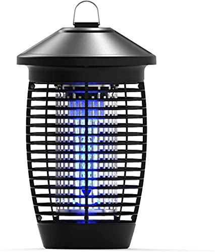 Serrale Lámpara eléctrica para MatarMoscas, Asesino deMosquitos, Insectos Atractivos con luz Ultravioleta de 4000V 20W, Zapper eléctrico para Moscas, Interior para Cocina casera