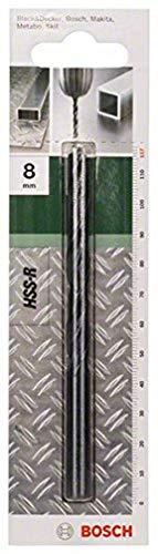 Bosch Professional 2 609 255 017 Broca para Metal HSS-R, DIN 338, 8