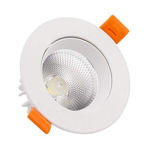 Foco Downlight LED COB Direccionable Circular 15W