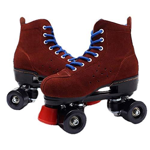 Disco Roller, Classic Roller, Rollschuhe Für Kinder, Jugendliche Und Erwachsene, Bequem Und Atmungsaktiv Quad-Skates, Rollerskates,39