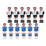 TOYANDONA 12 Piezas Figuras de Jugadores de Fútbol en Miniatura Figuras de Fútbol Modelos de Atletas para Decoración de Pasteles Accesorios de Mesa de Fútbol