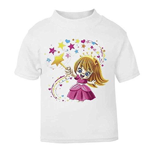 Fairy Wizard - Camiseta de manga corta para bebé (3 – 4 años), color blanco