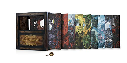 Amazon - Game of Thrones: The Complete Seasons 1-8 Collectors Ed., Blu-ray $110.99