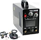 9TRADING 2 in 1 TIG DC PULSE FREQUENCY HF WELDER 200 AMP MOSFET INVERTER MMA ARC STICK