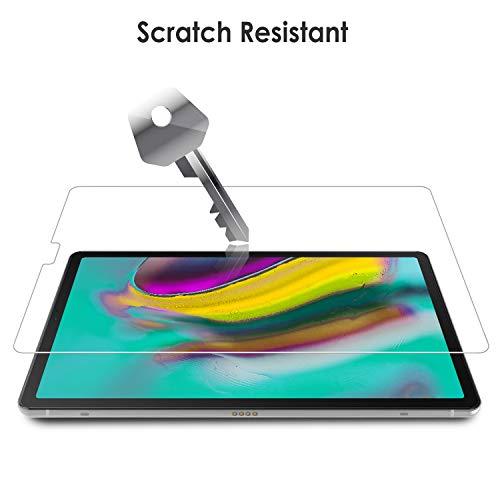 WD&CD 2 Pack Panzerglas Schutzfolie kompatibel mit Samsung Galaxy Tab S5e 10.5