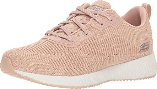 Skechers - Zapatillas deportivas Bobs Squad Total Glam-32502 para mujer, color Rosa, talla 37 EU