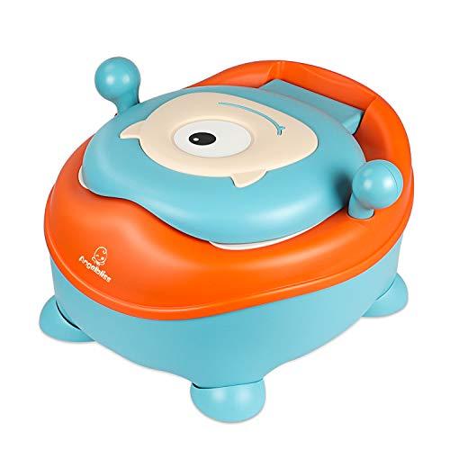 töpfchen für kinder by ANGELBLISS, Inner Babytopf with lid, Toilettentrainer für Jungen und Mädchen - Ultra stabiles Design(6-48 Monate)