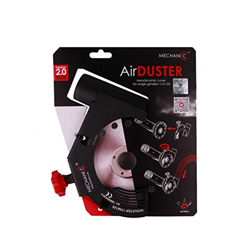 MECHANIC Air Duster Winkelschleifer Absaughaube Staubabsauger 125 mm / 230mm Angle grinder suction hood (230) Version 2.0