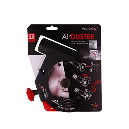 mechanic AIR DUSTER Amoladora angular Campana Aspiradora 125 mm/ 230mm Angle Amoladora Succión Capucha - 125