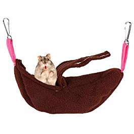 AOOCEEH Cat Hammock Rat Hammocks Rabbit Bed Hamster Bed Hamster Hammock Hamster House Guinea Pig Bed Hammock Cat Guinea Pig Bedding Rat Bedding Guinea Pig Tunnel Guinea Pig House
