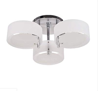 HomeLava Lámpara de techo con 3 Luces, E27, para Salón ...