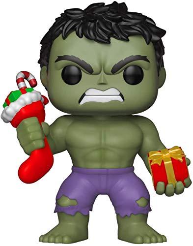 Pop! Bobble: Marvel: Holiday Hulk mit Strumpf und Plüsch