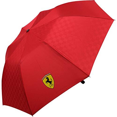 Scuderia Ferrari Paraguas Compacto Rojo