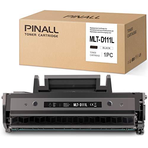 PINALL Cartucce toner compatibili Samsung MLT-D111L per Samsung Xpress M2020 M2020W M2021W M2022 M2022W M2026 M2026W M2070 M2070F M2070FW M2070W M2078W (1 nero)
