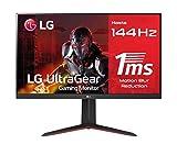 LG 32GN650B-AEU - Monitor Gaming LG Ultragear (Panel VA: 2560x1440p, 16:9, 350 CD/m², 3000:1, 144Hz (O/C 165Hz), 5ms (MBR 1ms), diag. 80.1cm, entradas: DP x1, HDMI x2, AMD Freesync Premium, HDR10)