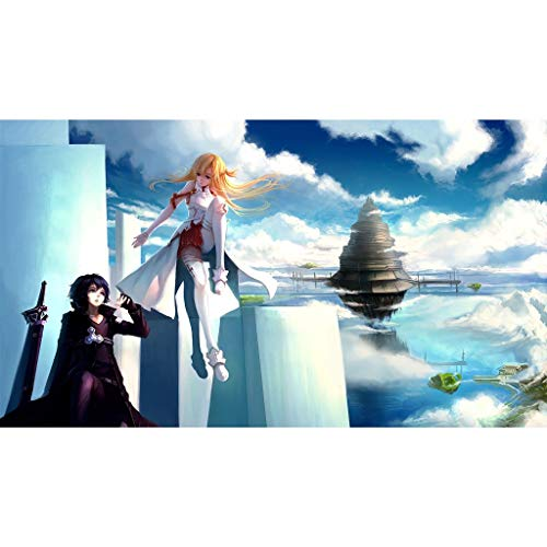 Puzzle - Sword Art Online Anime 300/500/1000/1500 Piezas For Adultos Regalo De Cumpleaños del Juguete De Madera Rompecabezas Kid WH Puzzle Shop (Color : C, Size : 300PC)