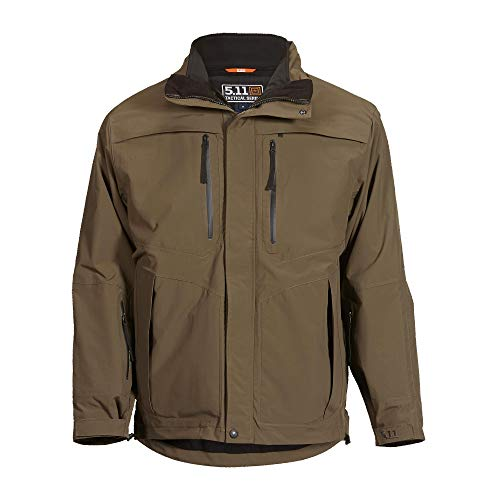 5.11 Tactical Series Bristol Parka Veste Homme, Tundra, FR (Taille Fabricant : 3XL)