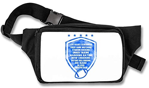 Im A Blues Screaming Every Game Watching Stadium Rocking American Football Bauchtasche