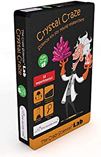 The Purple Cow- The Crazy Scientist Crystal Craze 実験ステム教育科学キット 10歳以上 子供 男の子 女の子