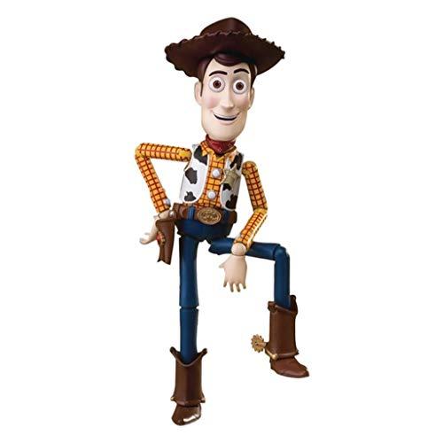 CQ Toy Story Woody 4 1/12 Figura de acción de la Escala Playset colección de Juguetes for niños de Regalos, de 8 Pulgadas Toys