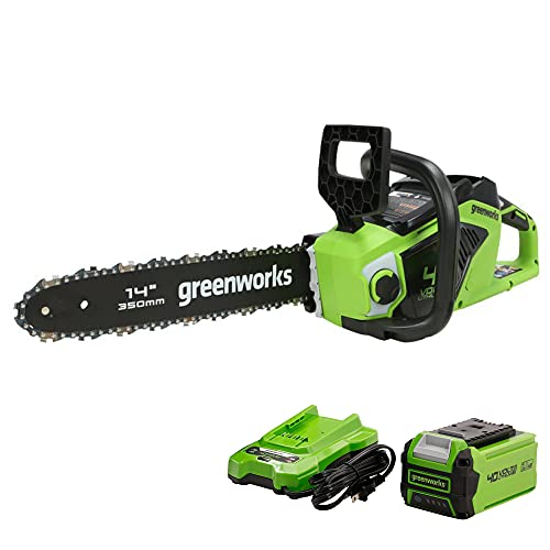 GreenWorks CS40L2511 Cordless Electric Chainsaw