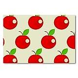 Póster de pared con marco para cocina, dormitorio, decoración del hogar, diseño de manzanas rojas y dulces, 60 x 90 cm