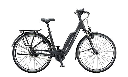 "KTM Macina Central 5 XL Bosch Elektro Fahrrad 2020 (28\"" Einrohr 51cm, Black Matt/Grey)"
