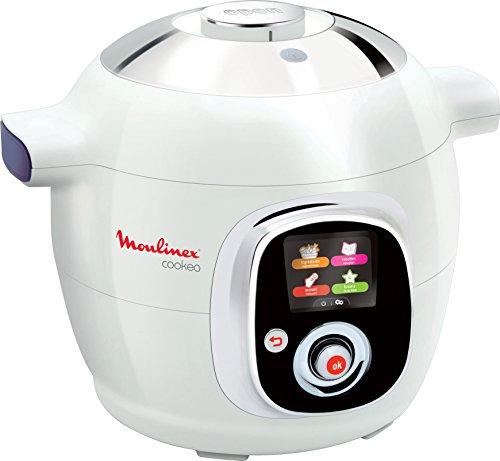 Moulinex Cookeo IT CE706121 6L 1200W Cromo, Porpora, Bianco apparecchio multi-cottura
