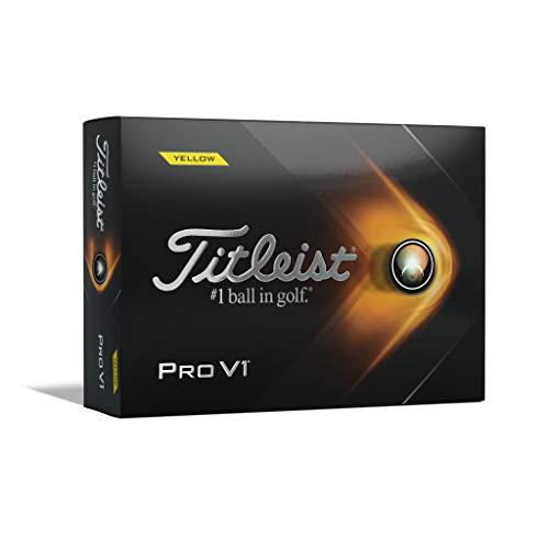 Titleist Pro V1 Yellow Golf Balls