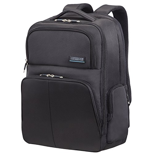 American Tourister Atlanta Heights Zaino per Laptop, 24 litri, Nero