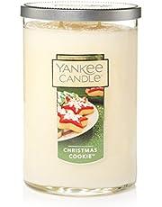 شمعة Yankee Candle Large 2-Wick Tumbler Candle, لون التوت الثلجي المتتالي Large 2-Wick Tumbler 1121431Z