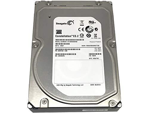 Seagate Constellation ES.2 ST33000650NS 3TB 7200RPM 64MB Cache 3.5in SATA 6.0Gb/s Enterprise Hard Drive - PC, RAID, NAS, CCTV DVR (Renewed) w/1 Year Warranty