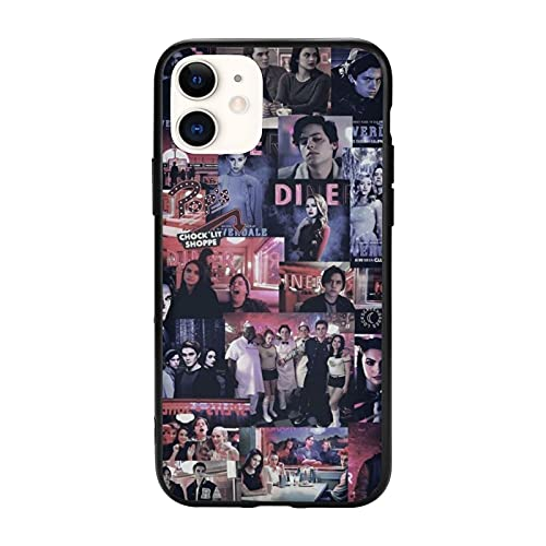 Classical Archie Betty Jughead Cole KJ Design Phone Case for iPhone 7 8 Plus X XR XS 11 11Pro 11 ProMax 12 Mini Pro Max Case River_d-ale Sprouse APA Non-Slip TPU Protective Case