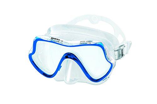 Mares Pure Vision - Gafas de Buceo Unisex, Color Azul Reflex, Talla HM