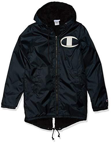 Champion LIFE Men's Sherpa Lined Stadium Jacket, Black, Large