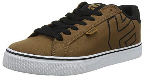 ETNAB|#Etnies Fader Vulc, Zapatillas de Skateboard Hombre, Brown/Black/White 229, 37.5 EU