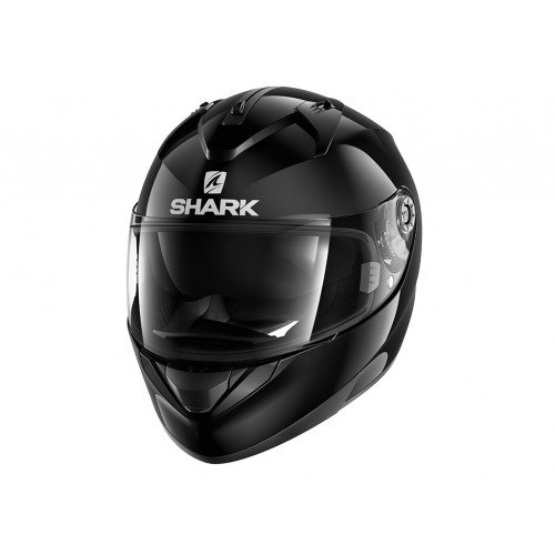 Shark Motorradhelm Hark Ridill Blank, Schwarz, Größe S