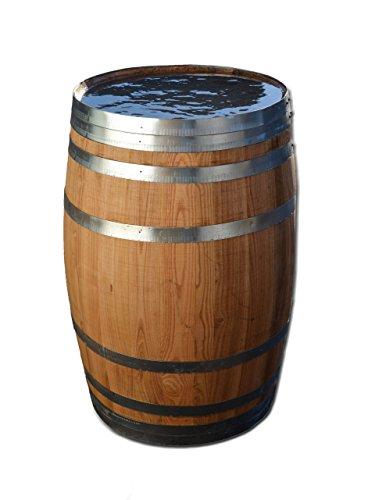 100 Liter Holzfass, neues Fass, Weinfass aus Kastanienholz (Fass geölt geöffnet)
