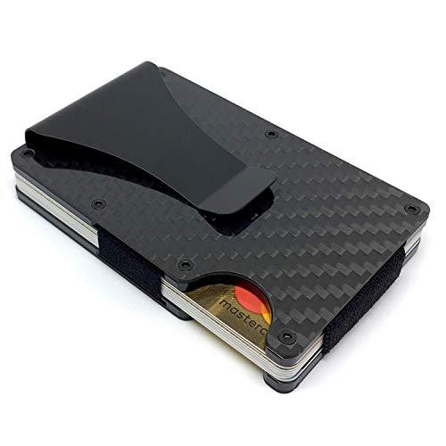 SHIELD WALLET Kreditkartenetui mit Geldklammer - NFC & RFID Schutz - Premium Kartenetui Herren bis 15 Karten - Geldbörse mit Geschenkbox - Kreditkartenhülle abgeschirmt