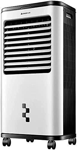Aire Acondicionado Portátil Enfriador evaporativo portátil, refrigerador de aire industrial Dormitorio en casa con refrigerador de agua Enfriamiento Móvil Móvil Aire acondicionado Comercial Volumen de