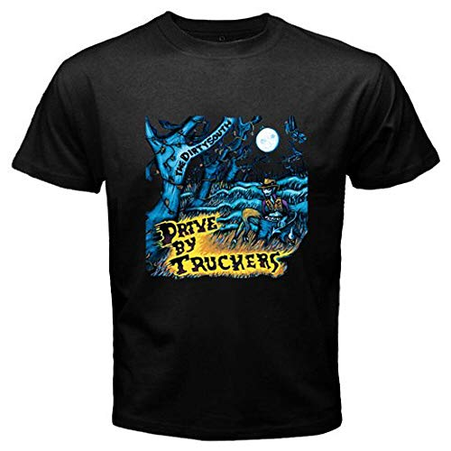 Drive by Truckers The Dirty South Rock Band Men's Black T-Shirt Size S-3XL