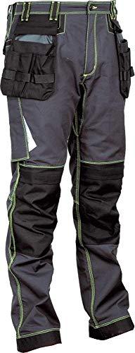 COFRA 48104 Arbeitshose Modell Leiria, Kollektion Ergowear, anthrazit/schwarz (50)
