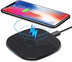 AGPTEK 10w wireless charger black