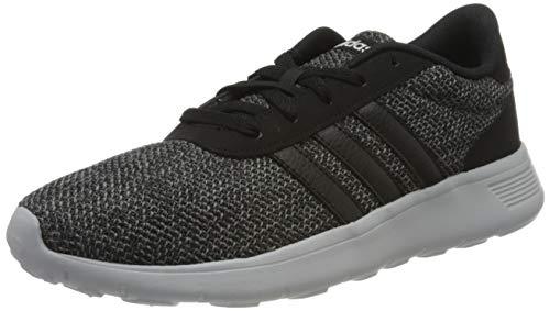 adidas Herren Lite Racer Laufschuhe, Schwarz (Core Black/Core Black/Grey Four F17 Core Black/Core Black/Grey Four F17), 45 1/3 EU
