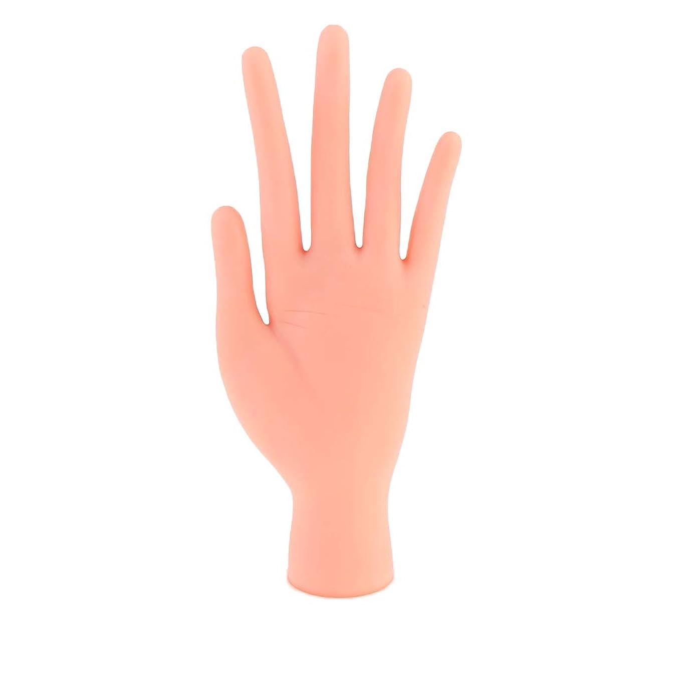 膿瘍いつでもバウンスCUTICATE マニキュア 練習 トレーニングハンド ハンドモデル 柔らかい指 ネイルサロントレーニング用